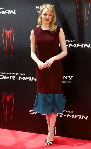 Emma Stone Photocall of The Amazing Spider-Man Madrid June 2012