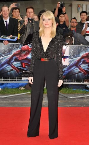 Emma Stone The Amazing Spider-Man Gala Premiere London June 2012