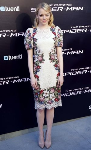 Emma Stone The Spanish premiere of The Amazing Spider-Man Madrid June 2012