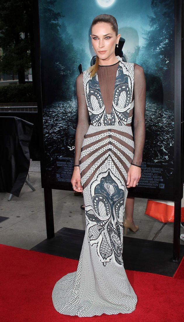 Erin Wasson premiere of Abraham Lincoln Vampire Hunter New York City