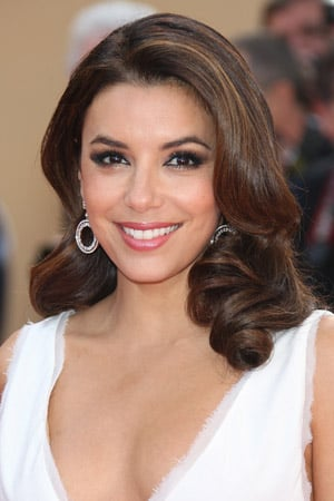Eva Longoria Old Hollywood waves