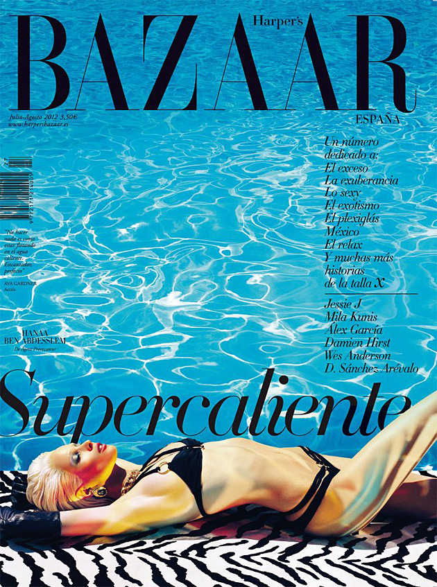 Harper's Bazaar Spain Summer 2012 cover