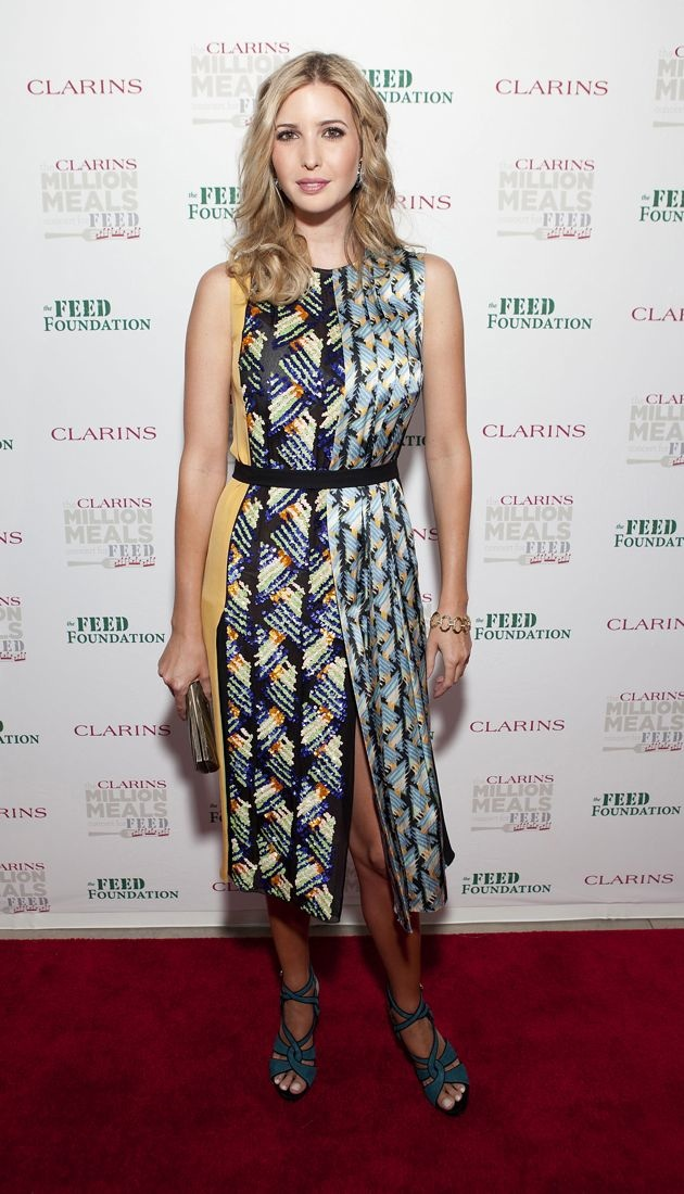 Ivanka Trump 2012 Clarins Million Meals Concert For FEED New York City