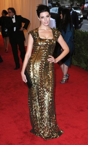 Jessica Pare 2012 Met Gala New York City May 2012