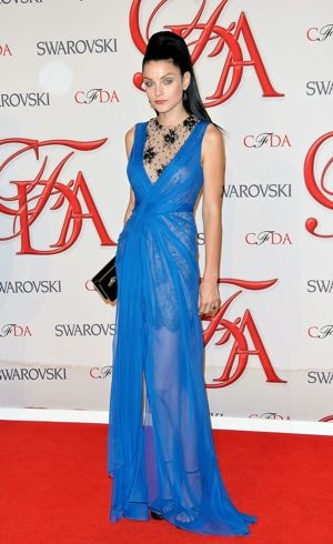 Jessica Stam 2012 CFDA Fashion Awards New York City June 2012