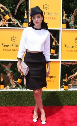 Jessica Stam Fifth Annual Veuve Clicquot Polo Classic Jersey City June 2012