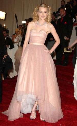 Jessica Stam Met Gala New York City May 2011