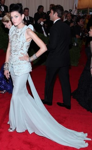 Jessica Stam Met Gala New York City May 2012