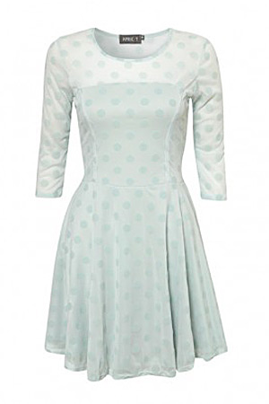 Apricot mint dress - forum buys