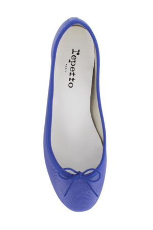 Repetto blue ballerina flats