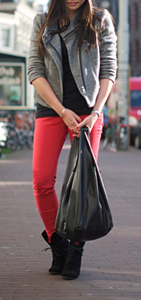 Forum Street Style Killer Combos In Red Black And White