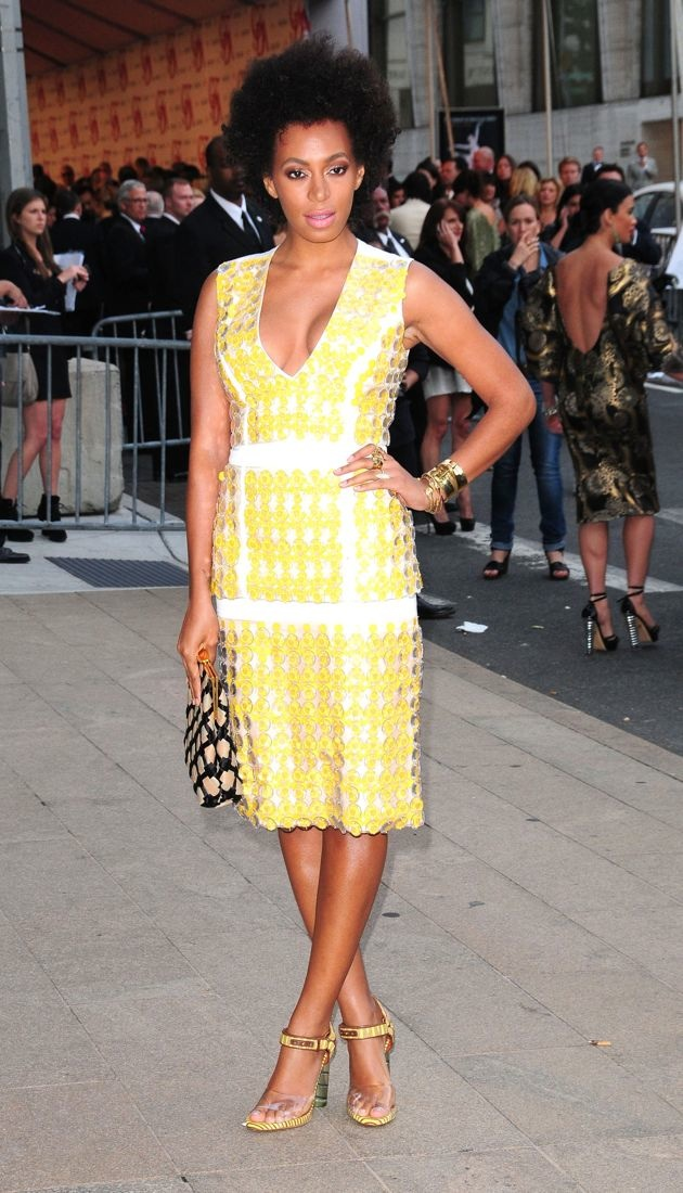 Solange Knowles 2012 CFDA Fashion Awards New York City