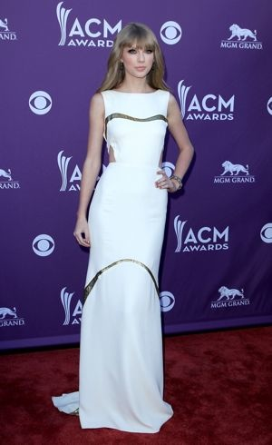Taylor Swift 2012 ACM Awards Las Vegas April 2012