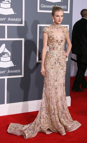 Taylor Swift 54th Annual GRAMMY Awards Los Angeles Feb 2012