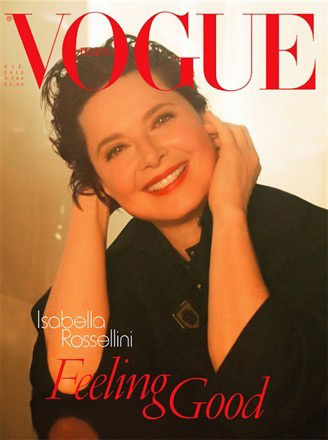 Isabella Rossellini S Vogue Italia Cover Disappoints