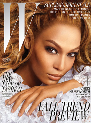 W July 2012 - Joan Smalls