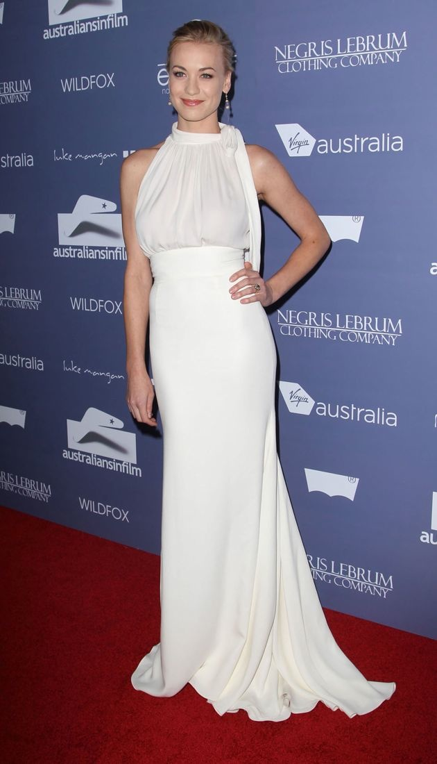 Yvonne Strahovski Australians In Film Awards Benefit Dinner 2012 Los Angeles