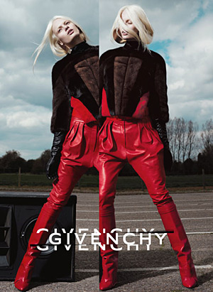 Givenchy Fall 2012 Stef van der Laan by Mert & Marcus
