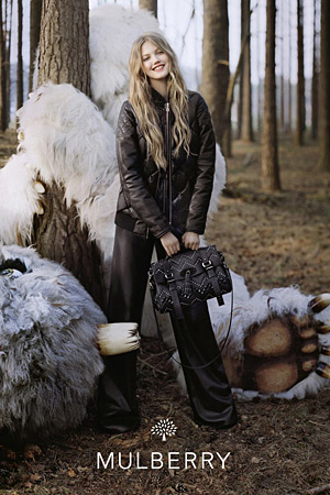 Mulberry Fall 2012 - Lindsey Wixson by Tim Walker