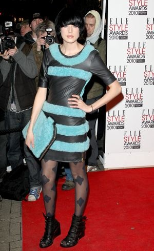 Agyness Deyn ELLE Style Awards 2010 London Feb 2010