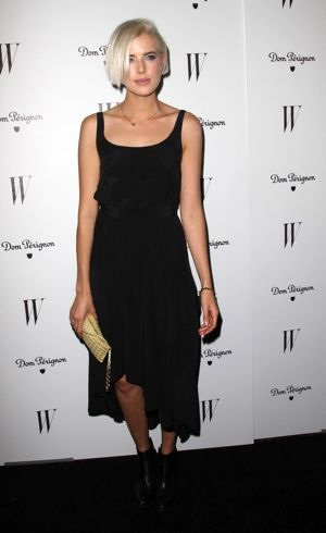 Agyness Deyn W Magazine 69th Annual Golden Globe Awards Celebration Los Angeles Jan 2012
