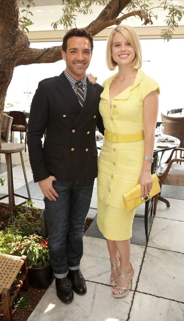 Alice Eve 25 Most Powerful Stylists Luncheon Beverly Hills