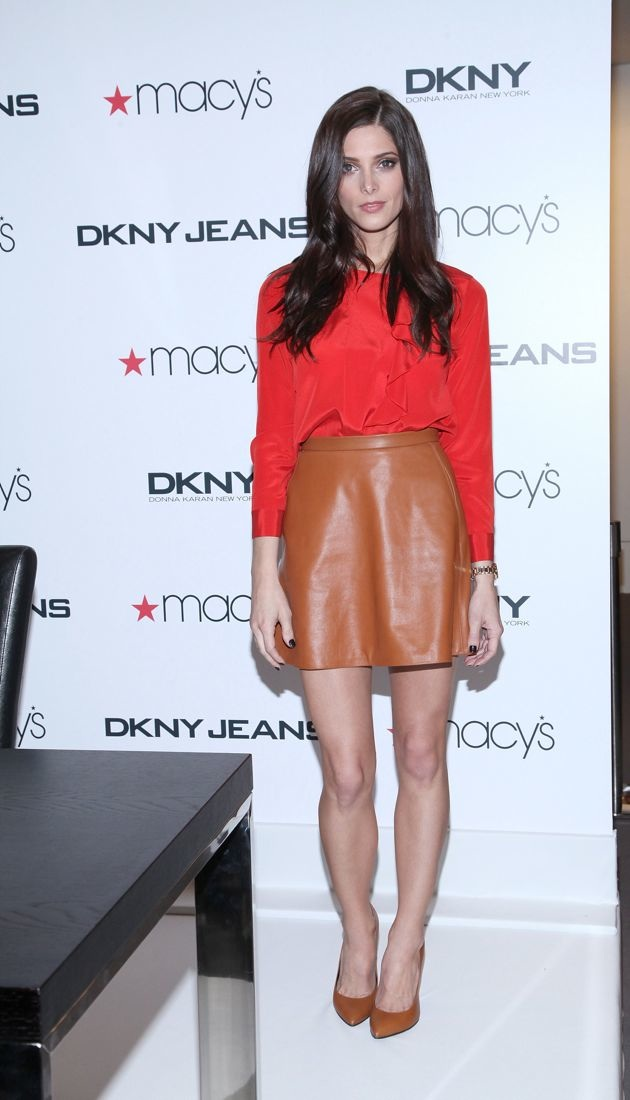Ashley Greene Macys Herald Square New York City