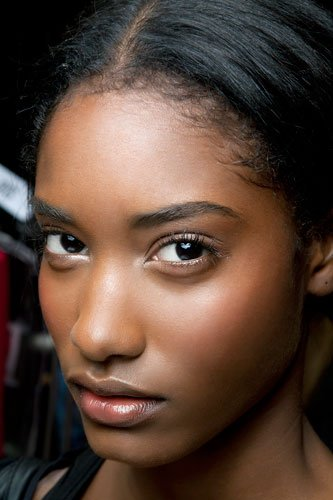 Start with a sheer foundation or tinted moisturizer. You want to let as much of your skin's natural texture show through but still even tone and add ...