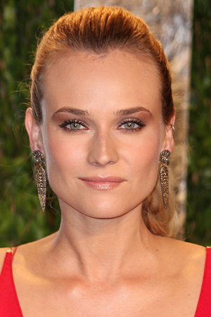 Diane Kruger Beauty Look Of The Week Bronzed Rosy Gold
