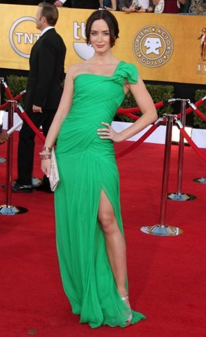 Emily Blunt 18th Annual Screen Actors Guild Awards Los Angeles Jan 2012