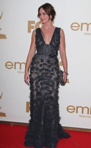 Emily Blunt 63rd Primetime Emmy Awards Los Angeles Sept 2011