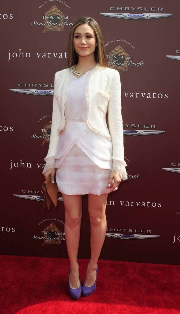Emmy Rossum 9th Annual John Varvatos Stuart House Benefit West Hollywood