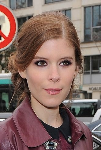 Kate Mara Paris Fashion Week Fall 2012 Miu Miu cropped
