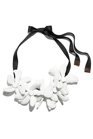 Marni for H&M flower necklace - forum buys