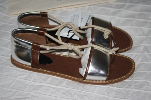 Marni for H&M silver sandals - forum buys