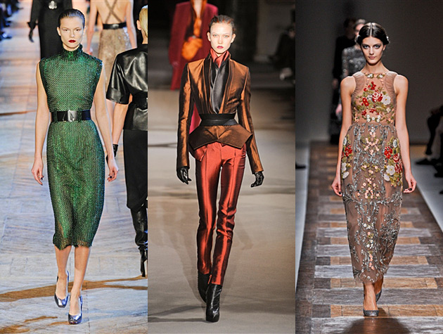 Paris Fall 2012 Hits - Yves Saint Laurent, Haider Ackermann, Valentino