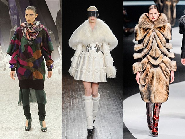 Paris Fashion Week Fall 2012 Misses - Chanel, Alexander McQueen, Viktor & Rolf