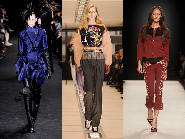 Paris Fashion Week Fall 2012 Misses - Ann Demeulemeester, Balenciaga, Isabel Marant