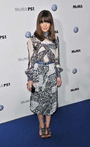 Rose Byrne The Launch Of The Partnership Between Volkswagen and MoMA New York City May 2011