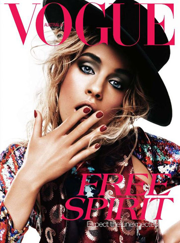 Vogue Australia - April 2012 - Julia Frauche