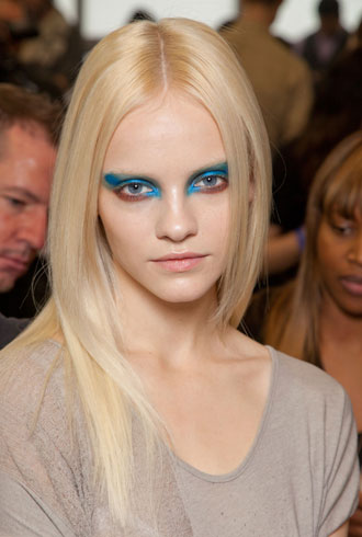 Prabal Gurung Fall 2012 beauty look