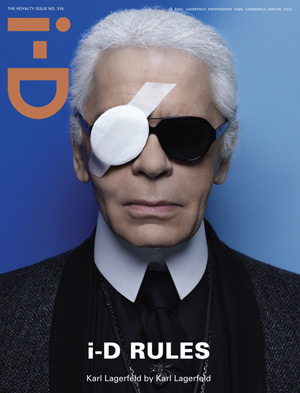 i-D Royalty issue - Karl Lagerfeld