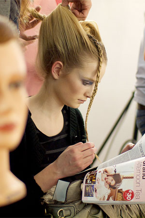 Model Reading Backstage