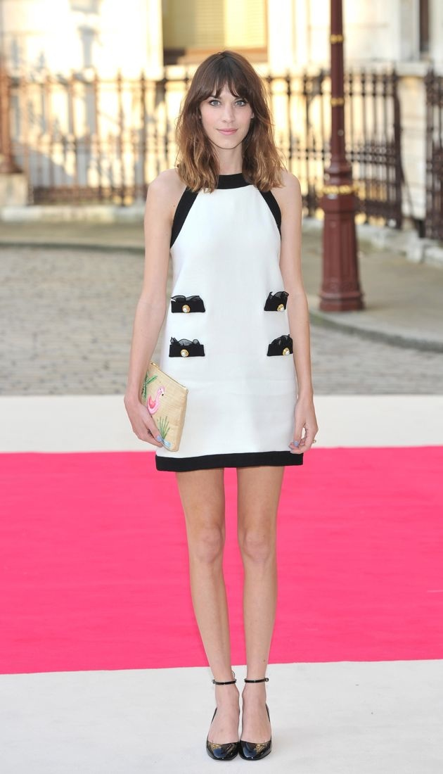 Alexa Chung: Look of the Day - theFashionSpot