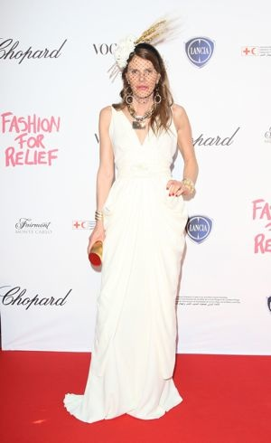 Anna Dello Russo 2011 Cannes International Film Festival Fashion For Relief May 2011