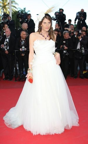 Anna Dello Russo 2011 Cannes International Film Festival The Tree of Life Premiere May 2011