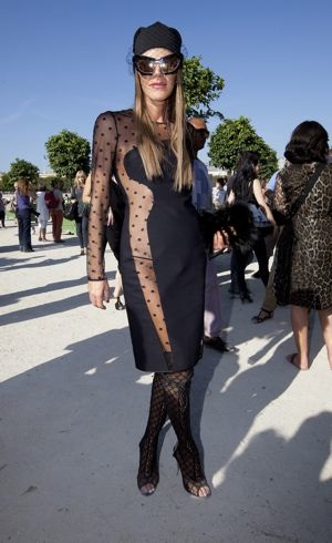 Anna Dello Russo Paris Fashion Week Spring 2012 Chloe Oct 2011