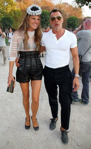 Anna Dello Russo Paris Fashion Week Spring 2012 Lanvin Sept 2011