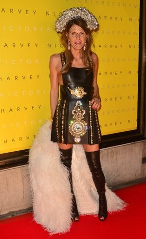 Anna Dello Russo Unveiling of Victoria Beckham Clothing Line London Feb 2012