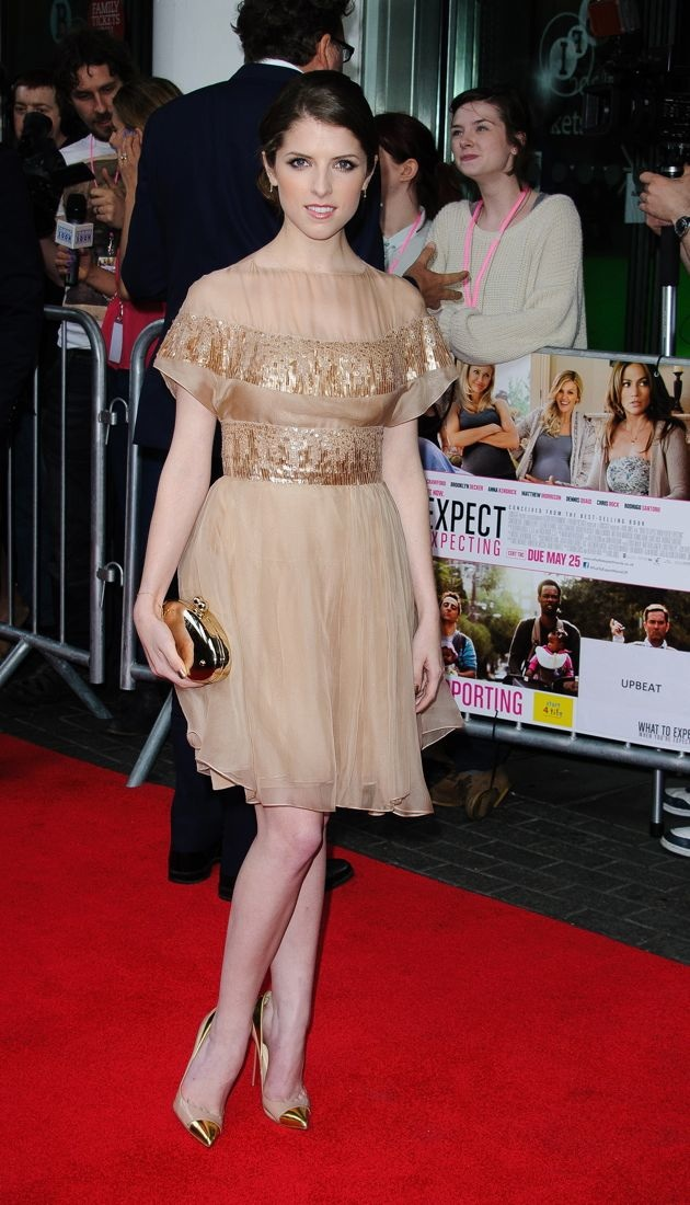 Anna Kendrick What To Expect When Youre Expecting European premiere London